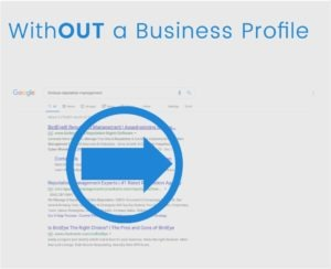 Google my Business Cover without a profile